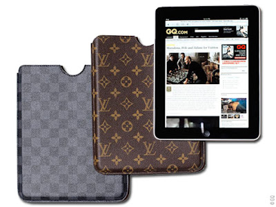 louis vuitton ipad protection 0 Housse de Luxe Louis Vuitton pour iPad (images)