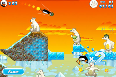 06 Crazy Penguin Catapult 15 Excellents Jeux iPhone iPad iPod Touch (Gratuits)