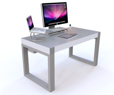 novanta2 Simple Desk pour iMac et iPhone : Bureau de Pro (images)