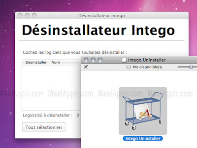 Intego Uninstaller Mac OSX Intego Uninstaller Mac OSX : Desinstaller NetBarrier VirusBarrier Etc (gratuit)
