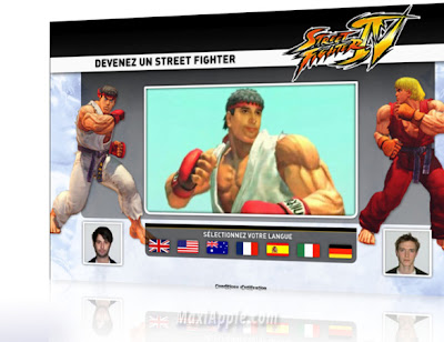 you streetfighter1 Street Fighter IV : Devenez le Hero (video)