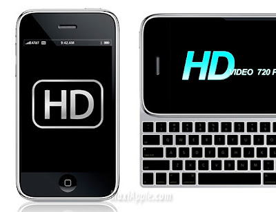 iphone hd iPhone HD et iPod Touch HD : Pour Juin 2009 ?!