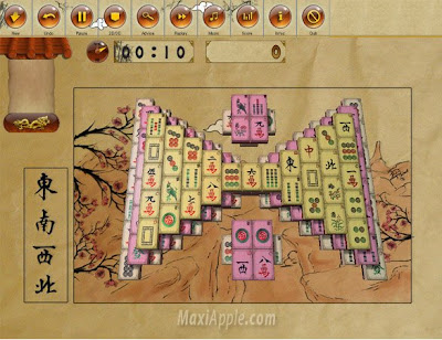 poculis mahjong 1 - In-Poculis Mahjong OSX : Jeu Mahjong Deluxe (gratuit)