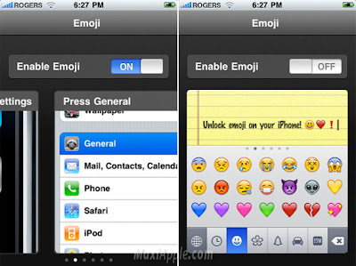 emoji iphone 1 Type Emoji iPhone : Activez les Smileys (gratuit)