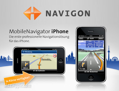 navigon iphone Navigon GPS iPhone : Decouverte en Video