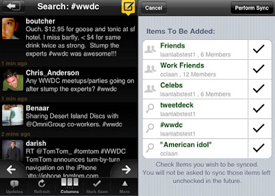 tweetdeck iphone 1 TweetDeck iPhone : Excellent Client Twitter (gratuit)