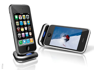 philips tridock 1 Philips TriDock iPhone : Un Dock a Bascule