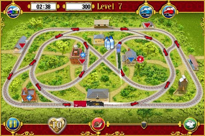 Wild+Wild+Train+iPhone 4 Wild Wild Train iPhone : Excellent Puzzle Game (gratuit)