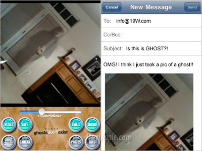 ghost capture iphone 2 Ghost Capture iPhone : Fantomes en Photo (gratuit)