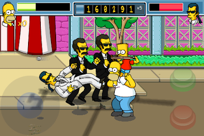 thesimpsonsarcade iphone 3 Simpsons Arcade iPhone : Jeu Disponible (video)