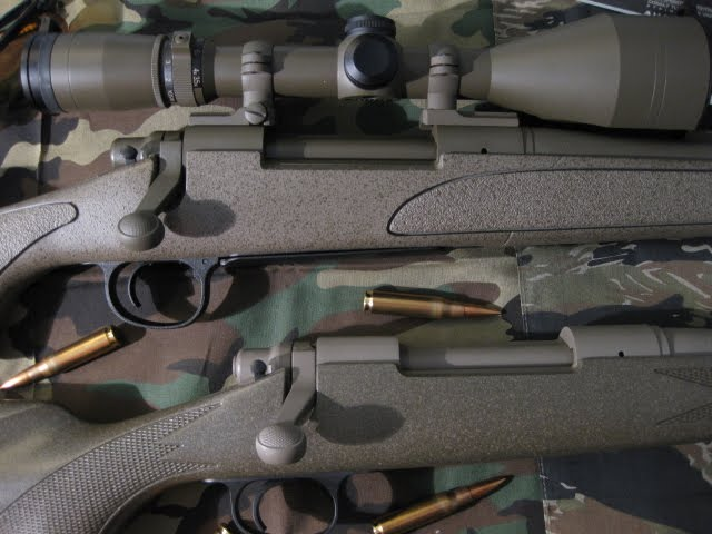 Remington 700s' Mirrored reversed colors