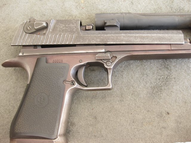Desert Eagle Before