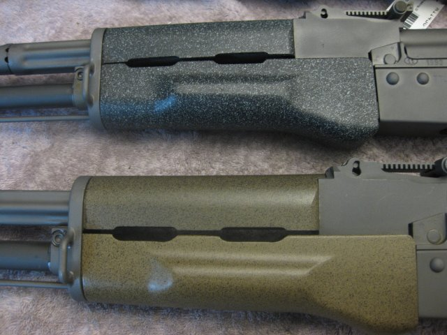 Ak-74's closeup coating