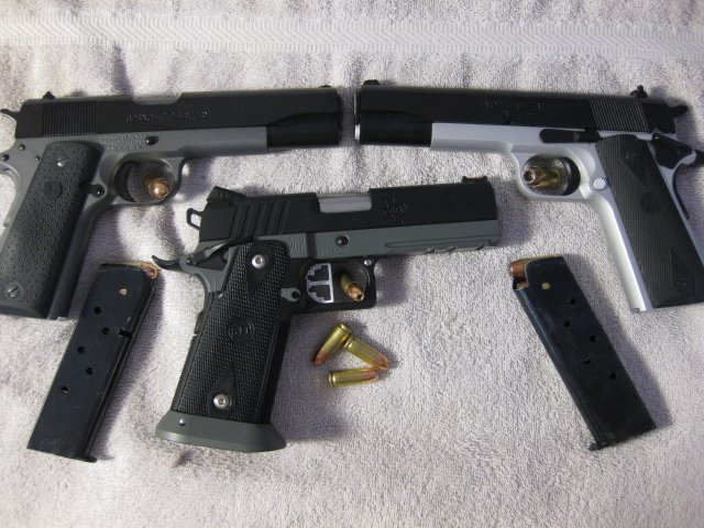 3 1911's 2 tones