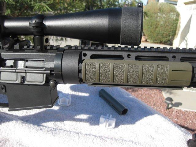 Dpms SASS Ar-10 rifle