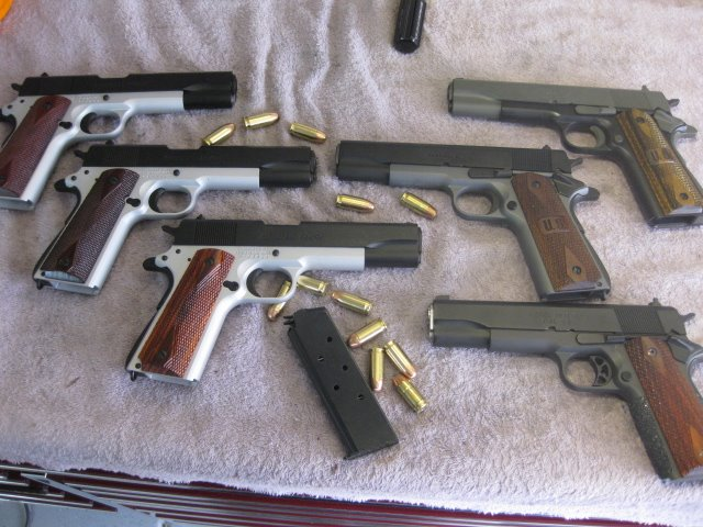 Springfield 1911 group pic