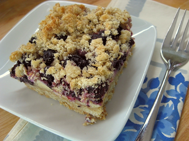 hearty dose of creamy lemon filling these blueberry lemon crumble bars ...