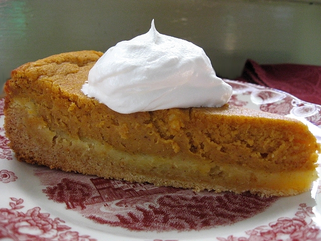 On My Plate: Gooey. Pumpkin. Butter. Cake.