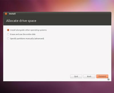 install 03 medium Gravação do CD, Criação do disco de Instalação USB e Instalação do Ubuntu