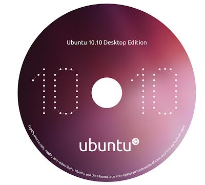 ubuntu 10.10 cd cover Gravação do CD, Criação do disco de Instalação USB e Instalação do Ubuntu