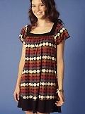 [style+violet+dot+trapeze+dress]