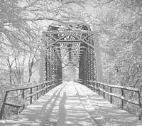 old car bridge