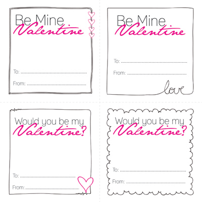 Getting Ready for the BIG Day – Mini Valentine Cards