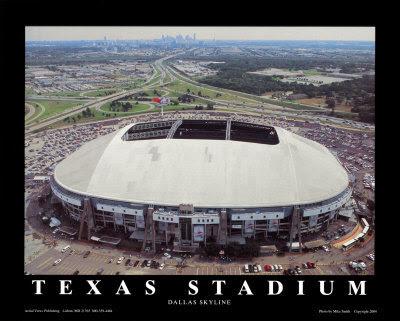 Dallas Cowboys Stadium. Farewell to Texas Stadium