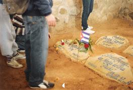 Lugar donde se encontraron los restos