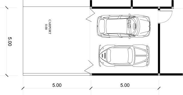 A Menata Rumah Mungil 6x8m2 Desain Siap Pakai Kode 023