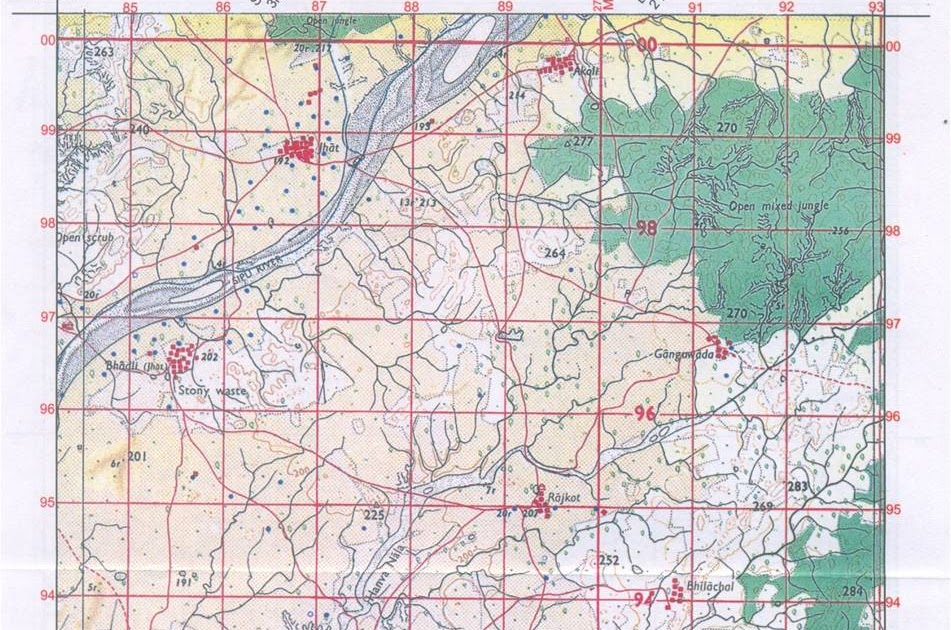 Brhectorsgeoworld a2 topographical survey mapspart 1 ccuart Image collections