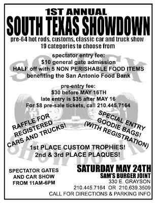 Walker Report Shedding Light On Bexar County South Texas Showdown - Texas metal car show