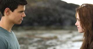 Taylor Lautner with Kristen Stewart