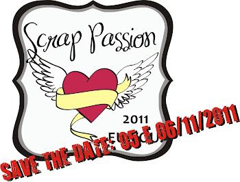 SCRAP PASSION - 05 e 06 de novembro - RIO DE JANEIRO
