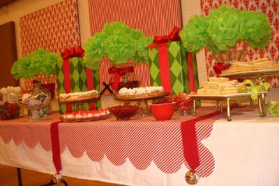 Set A Pretty Christmas Buffet Celebrations At Home