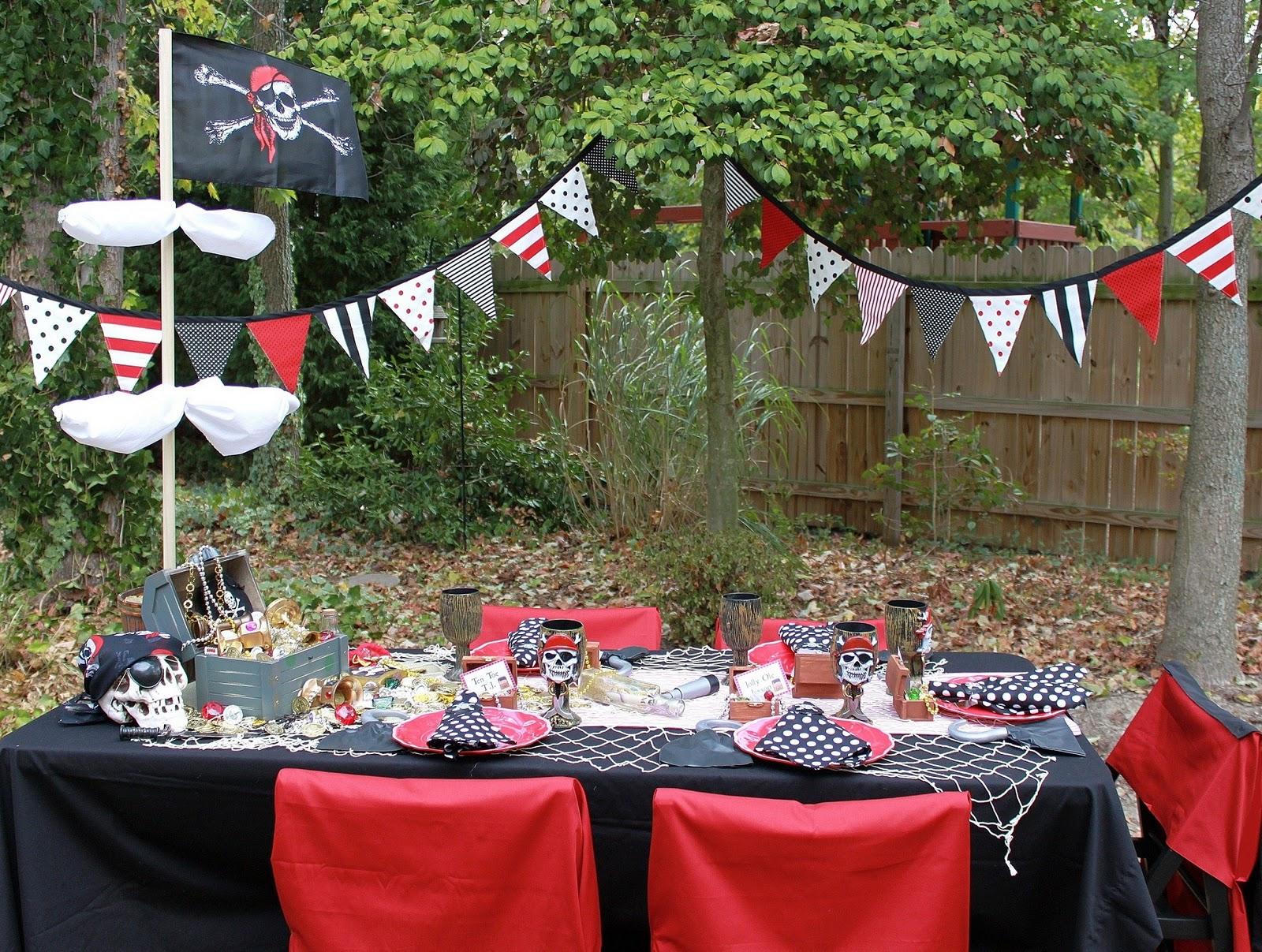 Mesa para Fiesta de Piratas. | Ideas y material gratis para fiestas y ...