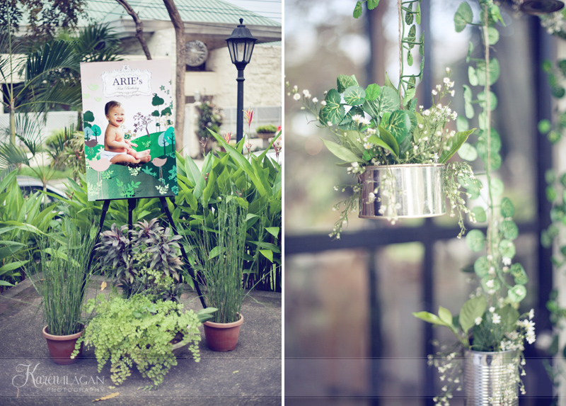 A Botanical Garden 1st Birthday Party Guest Feature