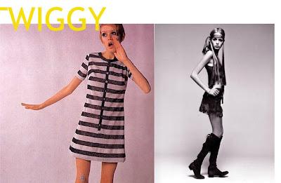 Twiggy Fashion on Twiggy Tornou Se   Cone Dos Anos 60   Com Cabelos Loiros Muito