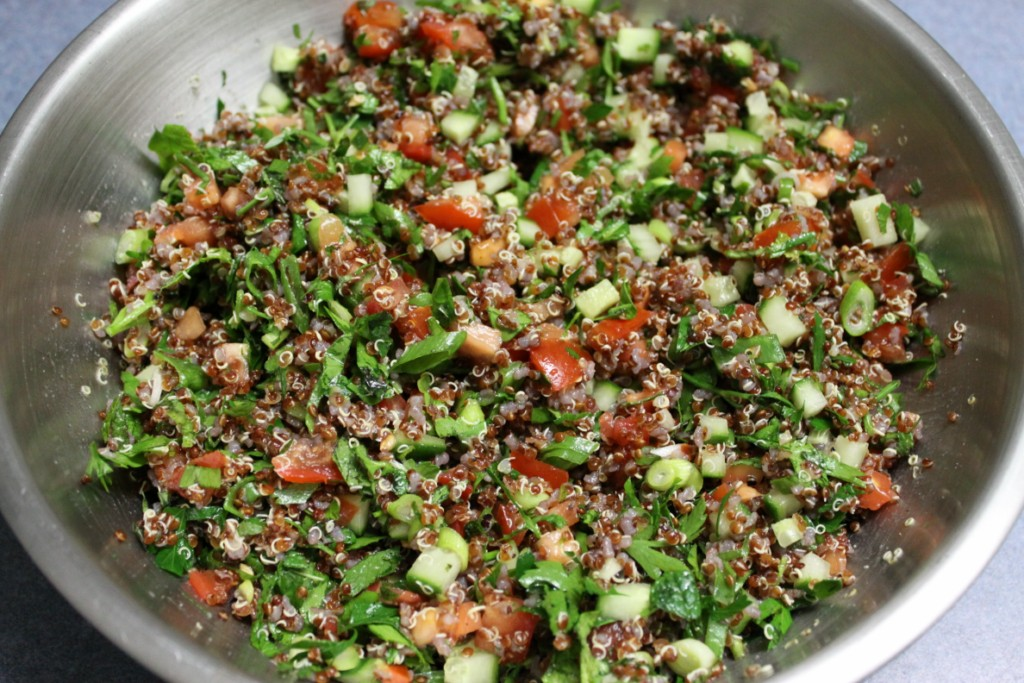 Bread and Sniff It : Quinoa Tabbouleh
