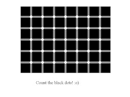 count the black dots ?