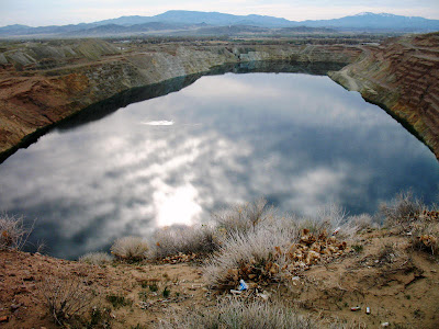 open pit