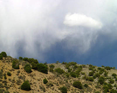 cloud with hill