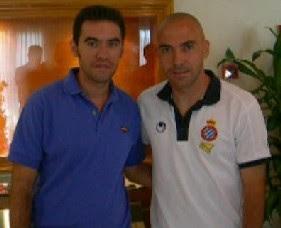Con Iván de la Peña