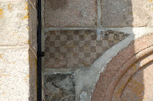 Chessboard Veggerby church