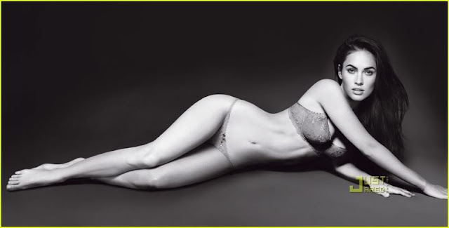 Megan Fox Sizzles in Armani Underwear Shoot5