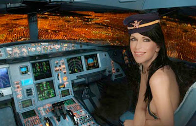 naked spanish airhostess8