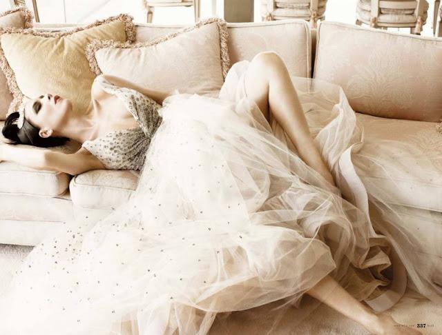 sexy Victoria beckham in elle magzine