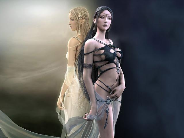 sexy CG girls