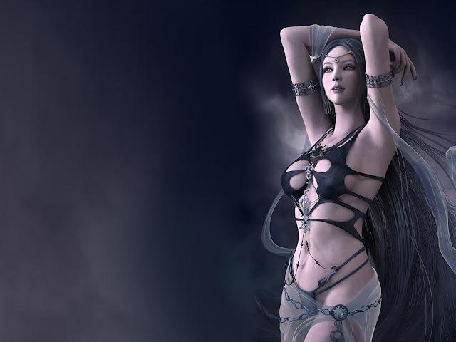 sexy Computer Graphics girls