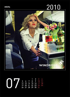 sexy windrose stewardess calendar 8